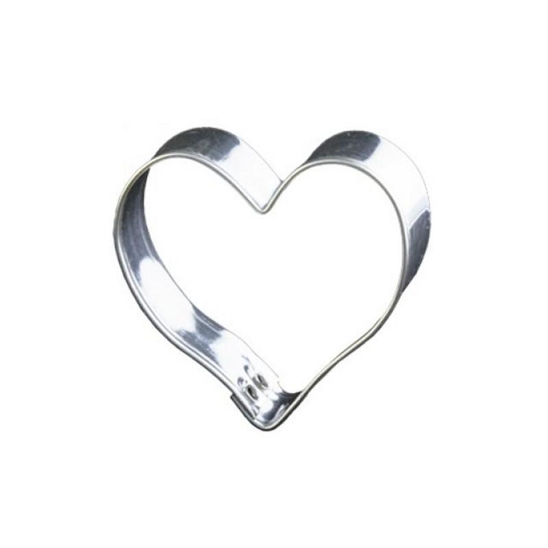 d coupoir coeur 5 cm emporte pi ce coeur en fer blanc. Black Bedroom Furniture Sets. Home Design Ideas