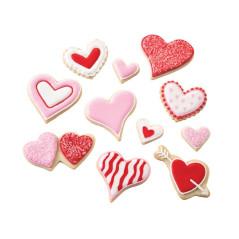 Emporte-pièces Coeurs (Lot de 7)