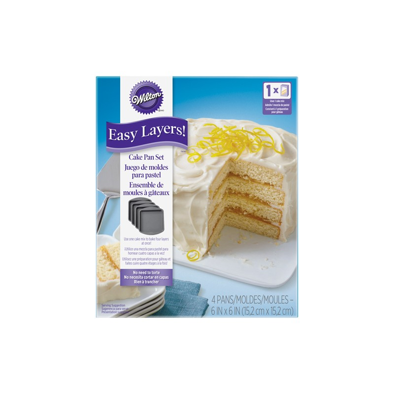 Moules layer cake carr moule g teau tages - Moule a layer cake ...