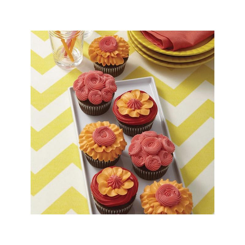 Kit de d coration pour cupcakes wilton i taught myself - Deco pour cupcake ...