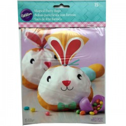 Sachets décor Lapin (lot de 15)