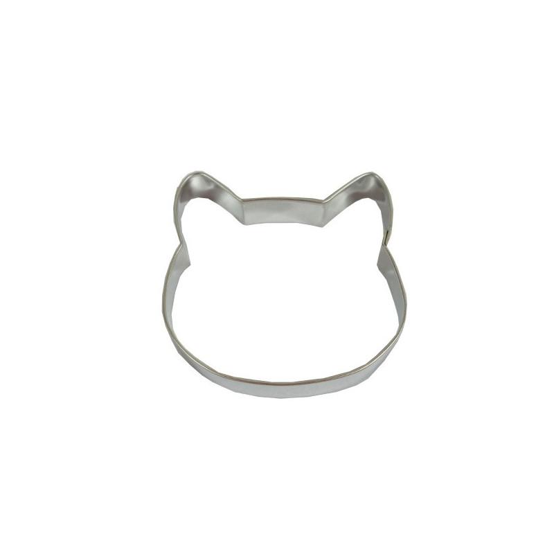 d coupoir t te de chat emporte pi ce en fer blanc pour la cuisine. Black Bedroom Furniture Sets. Home Design Ideas