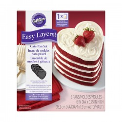 Moules à Layer Cake Coeur