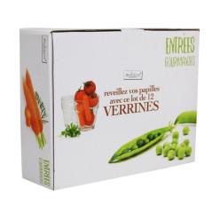Lot de 12 Verrines