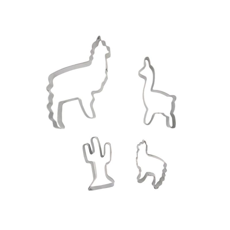 Emporte-pièces Lama et Cactus