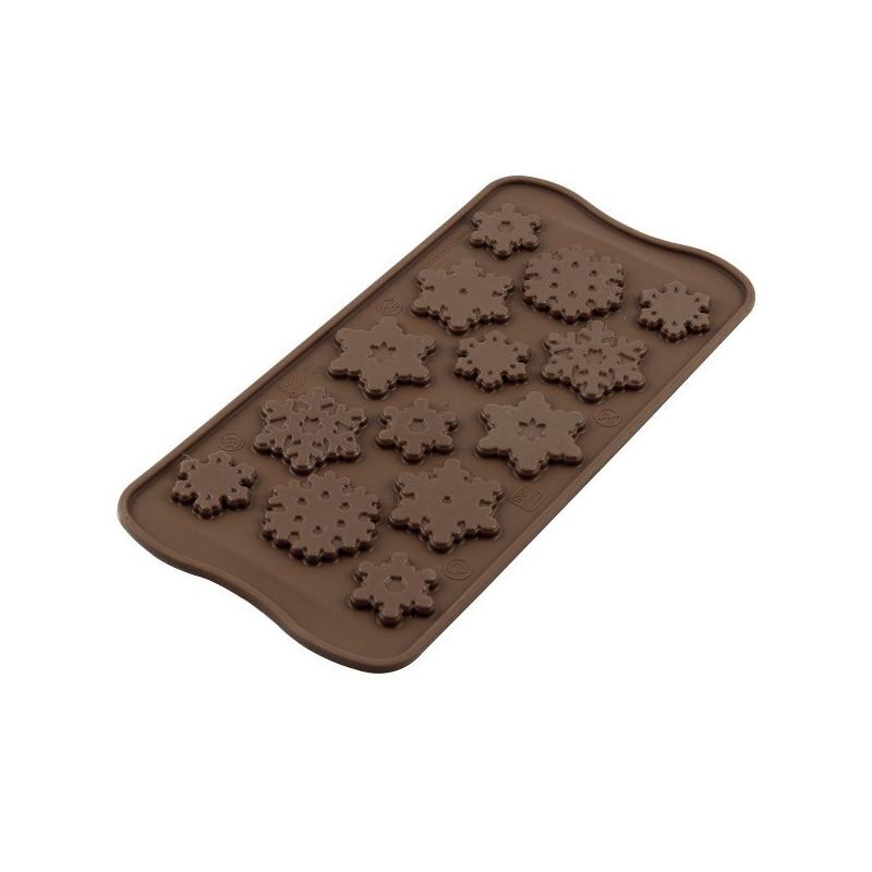 Moule à Chocolat Flocon de Neige