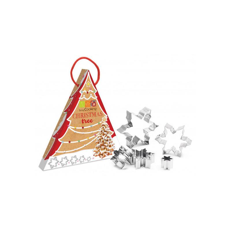Kit Sapin 3D Emporte-pièces Flocon
