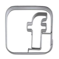 Emporte-pièce Logo Facebook
