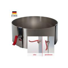 Cercle à pâtisserie réglable avec système de verrouillage