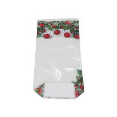 5 Sachets décor hiver biscuits et sablés - 12 x 27,5 cm