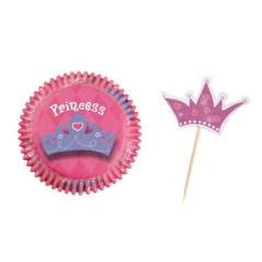 Caissettes à Muffins Princesse