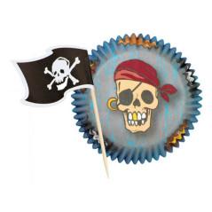Caissettes à Muffins Pirate