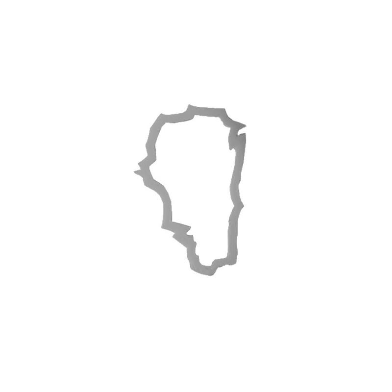 Emporte-pièce Carte Région Franche-Comté