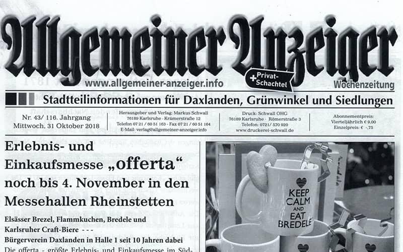 article allgemeiner anzeiger