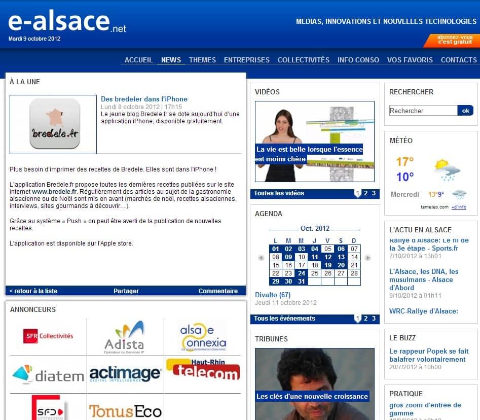 article e-alsace