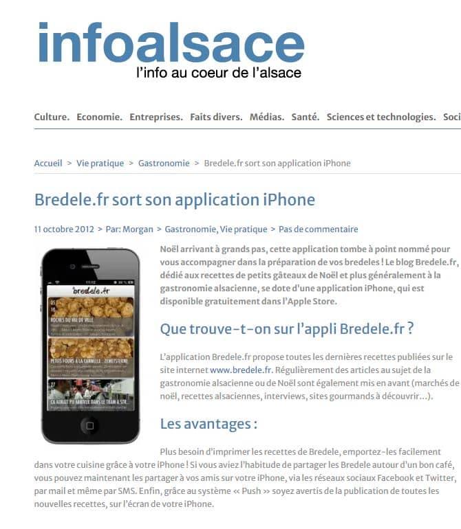 article info alsace