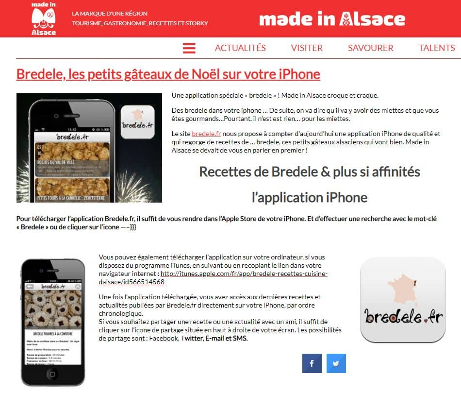 article made in alsace
